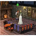 The Sims Medieval Bard Performing Play