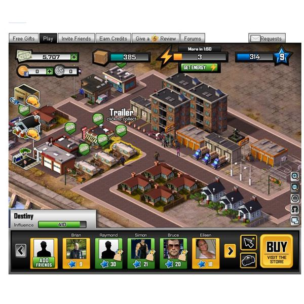 Play a Mafia City Builder With Capital City on Facebook