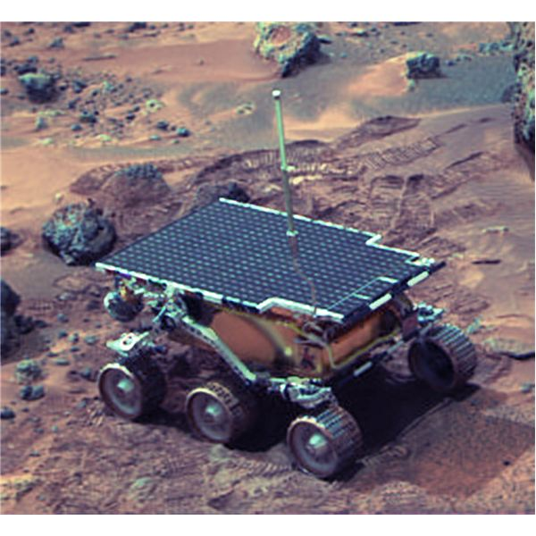 Sojourner on Mars