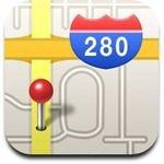 iPhone Maps Icon