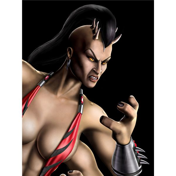 Mortal Kombat 2011 - Sheeva Character Information & Moves List