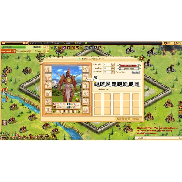 Browser MMO Games: Hero Civilization Review