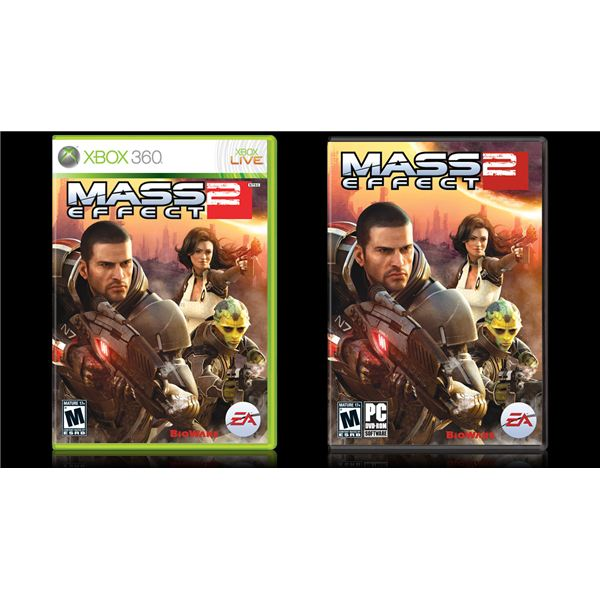 Mass Effect 2 Box Art