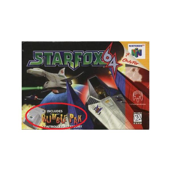 What happened to all the rumble in N64 games?