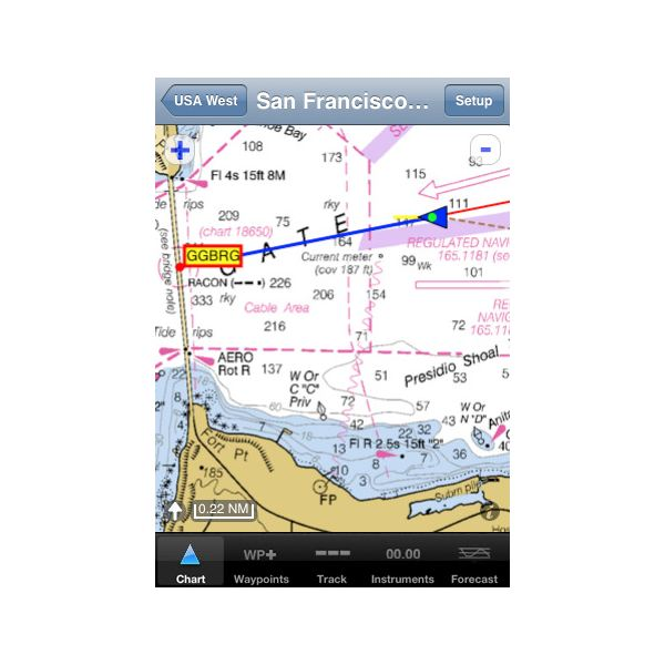 free marine navigation apps for iphone
