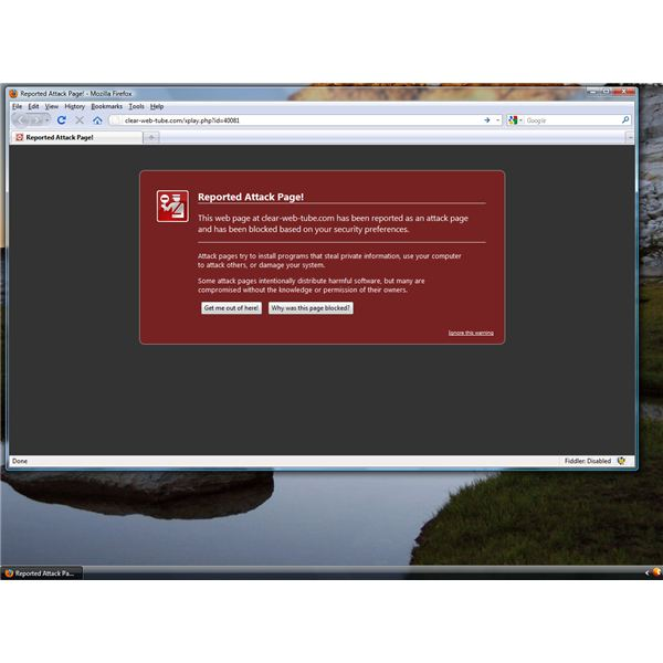 Not Blocked Malicious Site