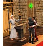 The Sims Medieval Screenshots of Wedding