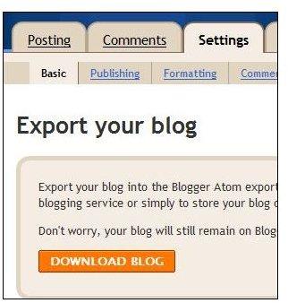 Export Blog