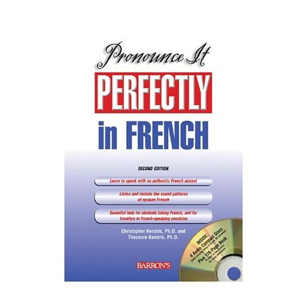 Pronounce it Perfectly in French: Software for Language Learning