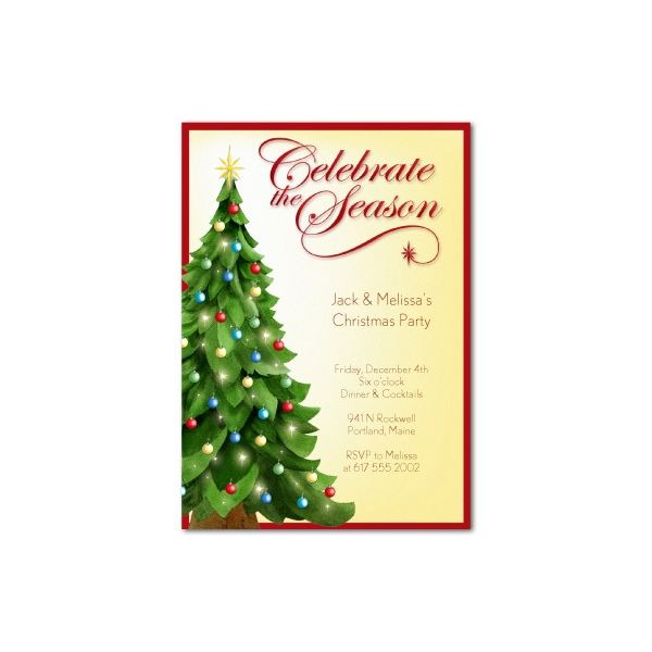 Top Christmas Party Invitations Templates Designs For Parties Of - Celebrate it invitation templates