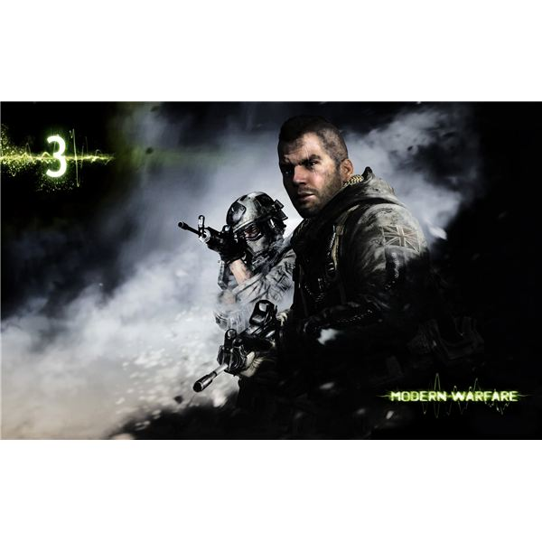 CoD Modern Warfare 3 game