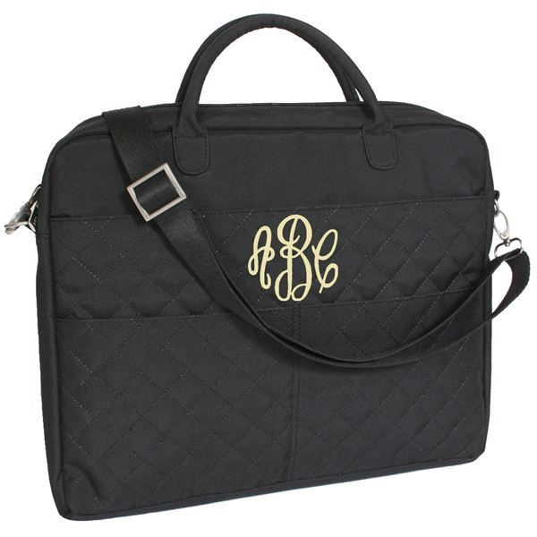 Milano Series Quilted Laptop Bag