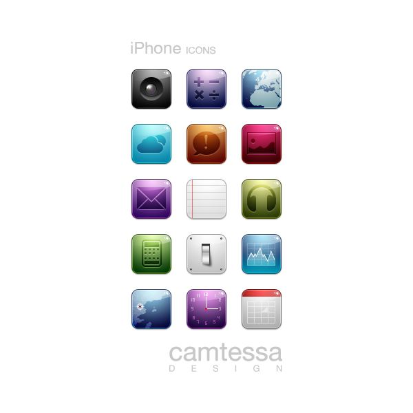 CMT iPhone icons