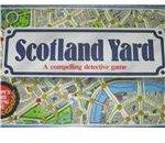 Scotland Yard Board Game Milton Bradley