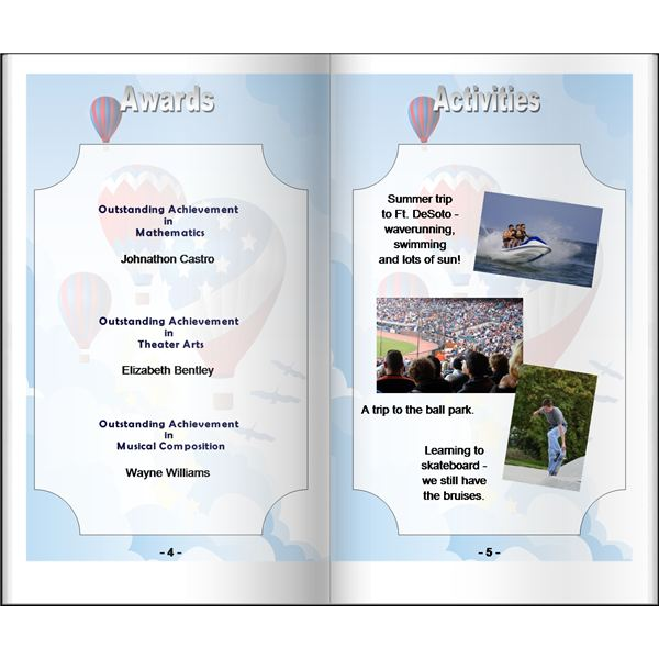 Year Book Templates | Make Your Own Homeschool Yearbook Ideas For Planning Printing A