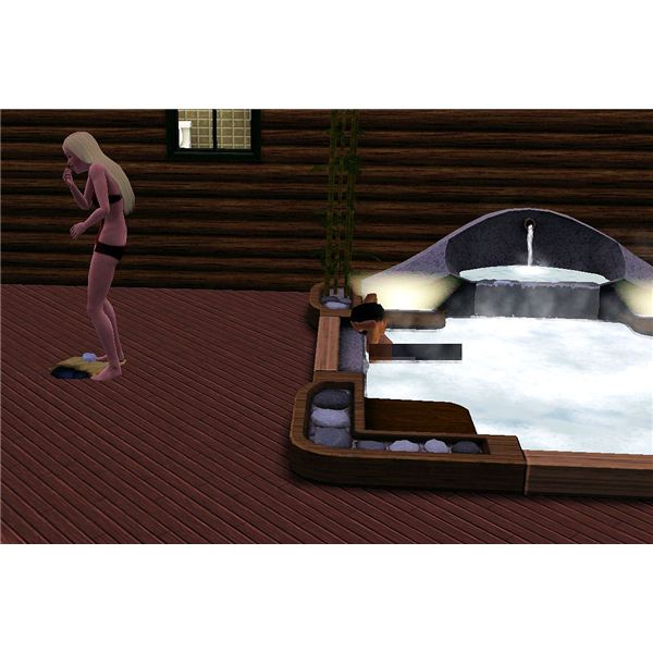 The Sims 3 Skinny Dipping Steal Clothes