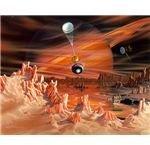 Titan and Huygens probe