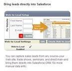 Screenshot Salesforce Leads