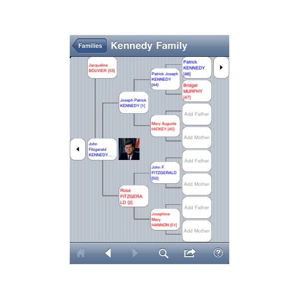 Best Family Tree App for iPhone using GEDCOM