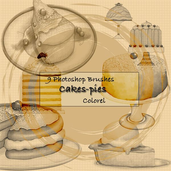 cakes pies by libidules